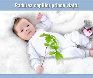 Cate un puiet plantat pentru fiecare nou nascut