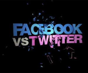 PR cu stil: Facebook vs. Twitter