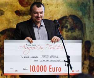 Romanul anului 2011: Matei Brunul