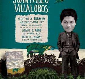 La un pahar de vorba cu Juan Pablo Villalobos