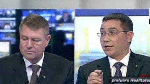 """11 """"realități"""" despre dezbaterea Iohannis – Ponta"""