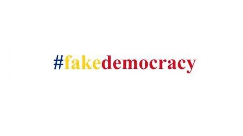 #fakedemocracy
