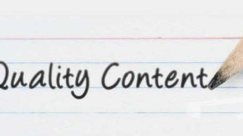 Mituri contemporane: quality content